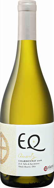 EQ Quartz Chardonnay San Antonio Valley DO Matetic, 0.75л